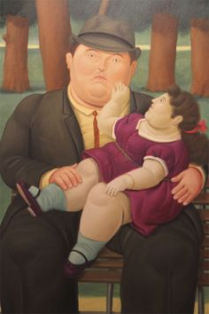 Botero - In The Park #botero #paintings #art