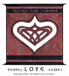 Faery Magic ~ One of the first symbols we received, this love and friendship symbol features a heart within a heart to illustrate that two hearts can become one.   Having this symbol in your home will intensify and draw the power of love to you.
