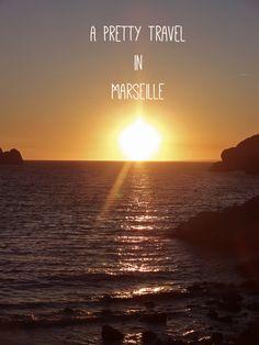 www.aprettyidea.com - Beautiful sunset from Frioul Islands