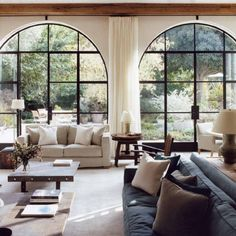 Atelier AM arched windows