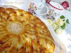 Gabriella kalandjai a konyhában :): Napraforgó kalács - sonkás-sajtos-tejfölös és fokh...