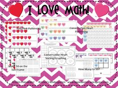 Use candy hearts to have fun adding, sorting, and graphing!