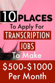 Are you good at listening audio files such as interviews, meetings? Why not take up transcribing jobs from home and make money online! Earn Money Fast, Make Money Now, Ways To Earn Money, Earn Money From Home, Earn Money Online, Money Tips, Transcription Jobs From Home, Transcription Jobs For Beginners, Online Income