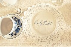 placecards for table settings... wedding in Maryville!