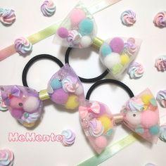 ハンドメイドマーケット+minne(ミンネ) +ゆめかわ♡チュールリボンヘアゴム Bow Hair Clips, Hair Bows, Cute Fashion, Diy Fashion, Diy Lip Gloss, Butterfly Hair, Diy Ribbon, Homemade Jewelry, Girl Room