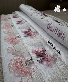 Siparisimiz hazir 2 adet havlumuz 😍😍 . . . . #iğne #iğneoyası #havlu #havlukenarı #keşfet #keşif #kesfetteyiz #instagram #instagood… Sewing Case, Stylish Mens Fashion, Needle Lace, Needlepoint, Knit Crochet, Sewing Projects, Crochet Patterns, Towel, Blog
