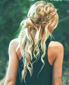 25 Heavenly Boho Hair Festival Style - All Day Fash