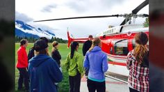 Helicopter access backcountry lodge ACMG guided and catered tours and self catered and independently guided trips to Purcell Mountain Lodge, Golden B.C.