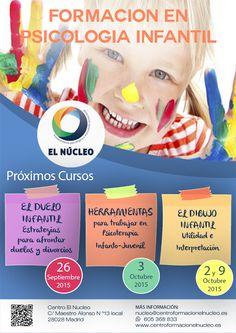 Centro de formación El Nucleo: Formación en Psicología Infantil 2015