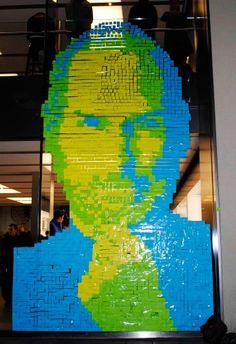Steve Jobs in Munich Apple store