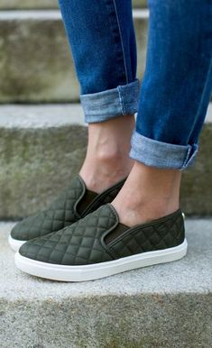 The slip-on sneaker with serious style. Details: Diamond quilting…