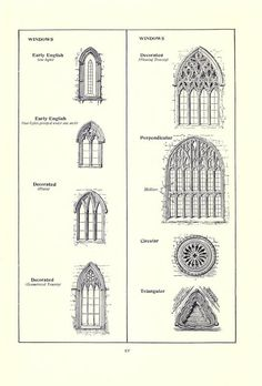 Gothic architecture; containing forty-eight ful...