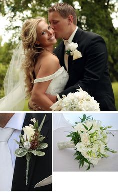 Need an idea for wedding flowers. We have plenty of them!