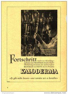 Original-Werbung/Inserat/ Anzeige 1950 - 1/1-SEITE -  KALODERMA  - ca. 240 x 160 mm