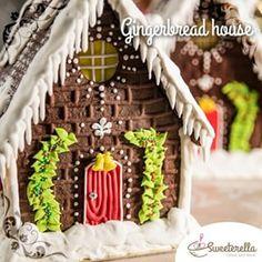 casinha de biscoito de gengibre - Pesquisa Google