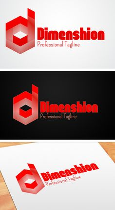 D Logo by @Graphicsauthor