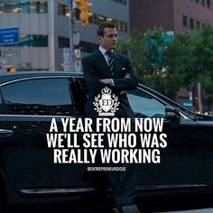 Everybody talks about it but in a year we'll really see who was putting in WORK✔️ #entrepreneurdose