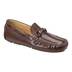 Men s Sandro Moscoloni Neil Driving Moc - Brown Moc Toe Shoes fd3c7e69c