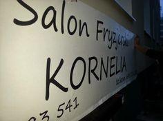 Tajemnica tkwi w prostocie :) #banery #tablice #reklama #słupca #września #konin