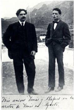 Tomás Morales y Alonso Quesada :: Archivo personal de Saulo Torón