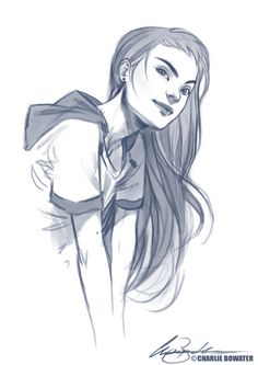 charlie bowater. I feel like this is rather modern version of Marianne...