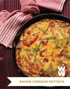 This hearty frittata is a natural for breakfast or brunch, but it also makes a wonderful family dinner. Try dressing it up with fresh herbs (chopped parsley or fresh oregano would be particularly good) and serving it with a salad of baby lettuces and halved grape tomatoes tossed with an oil and vinegar mix.