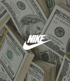 nike, money, and dollar image