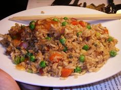 Image detail for -Melbo's Toast: Chicken Fried Rice: Biggest Loser Recipe Makeover #4