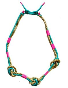 Fashionable Duct Tape Rope Necklace Tutorial - The Beading Gems Journal