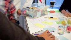 Impressions from our Open Course on Design Thinking at the HPI Academy, Potsdam