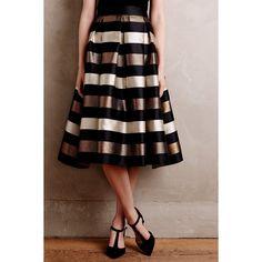 Eliza J Encore Midi Skirt ($178) ❤ liked on Polyvore featuring skirts, black motif, mid calf black skirt, calf length skirts, midi skirt, mid-calf skirt and black midi skirt