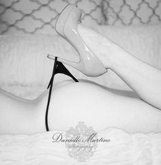 Boudoir photo by Danielle Martine Photography. Valentine's Day inspiration!