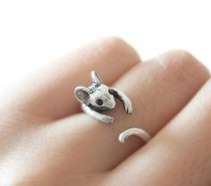 Mouse Ring Mice Ring Adjustable Ring Everyday Ring by petitformal, $8.50