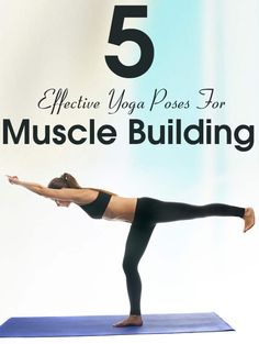 Yoga is known to be a complete package for fitness lovers! Here are 5 effective techniques of yoga for muscle building and get a ripped body.