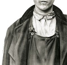 """Saatchi Online Artist: Sue Bryan; Charcoal, Drawing """"Lineaments"""""""