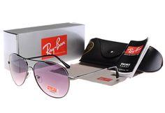 online retailer 7ecad 61ecf Ray Ban Aviator Gray Black Purple Lens Sunglasses  Cheap  purple  products   Womens