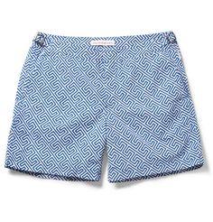 Orlebar Brown Bulldog Mid-Length Printed Swim Shorts | MR PORTER