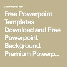 free powerpoint templates download and free powerpoint background premium powerpoint template ptt template design and toneelgroepblik Image collections