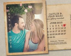 Wedding Save The Dates Magnets Postcards Cards Invites Invitations Announcements Calendar Rustic Vintage Country Outdoors Beach Navy Blush by SAEdesignstudio on Etsy https://www.etsy.com/listing/223314694/wedding-save-the-dates-magnets-postcards