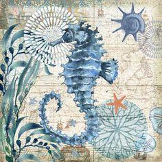 Monterey Bay Seahorse by Geoff Allen | Ruth Levison Design