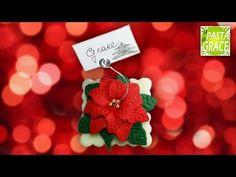 Segnaposto Stella di Natale in Pasta di Mais - YouTube