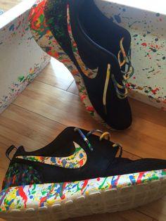 buy popular d5a80 a57ce custom roshe oreo design  womens Nike Custom Roshes  Oreo  black and  whitenike shoes nike free Nike air max Discount nikes Nike shox Half price  nikes Nike ...
