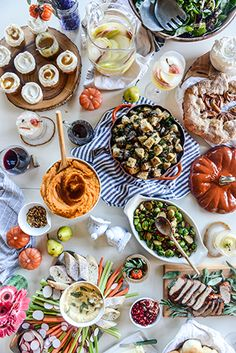 Traditional Thanksgiving Menu with a Twist by How Sweet Eats