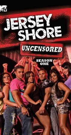 Created by Anthony Beltempo, SallyAnn Salsano. With Ronnie Ortiz-Magro, Vinny Guadagnino, Jenni 'Jwoww' Farley, Nicole 'Snooki' Polizzi. A reality-based look at the vapid lives of several New Jersey 20-somethings and their respective friends and/or hook-ups.