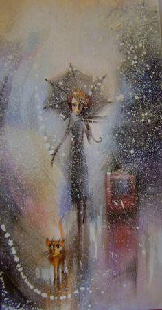 Сообщество иллюстраторов / Иллюстрации / Наташа Ромашева / Зимнее одиночество