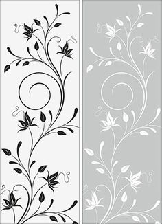 Window Glass Design, Frosted Glass Design, Frosted Glass Window, Glass Door, Bedroom Bed Design, Home Room Design, Stencil Designs, Paint Designs, Glass Painting Designs