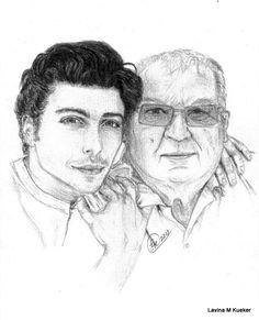 """Gianluca and his Grandpa """"Nonno"""""""