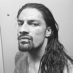 WWE posted the following photo of Roman Reigns following his brutal brawl with Daniel Bryan on Monday night: