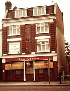 The Crown Pub in Eltham South East London England in 1981