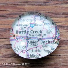 Cute, easy and useful way to remember all the places you've been without bringing back junk souvenirs!